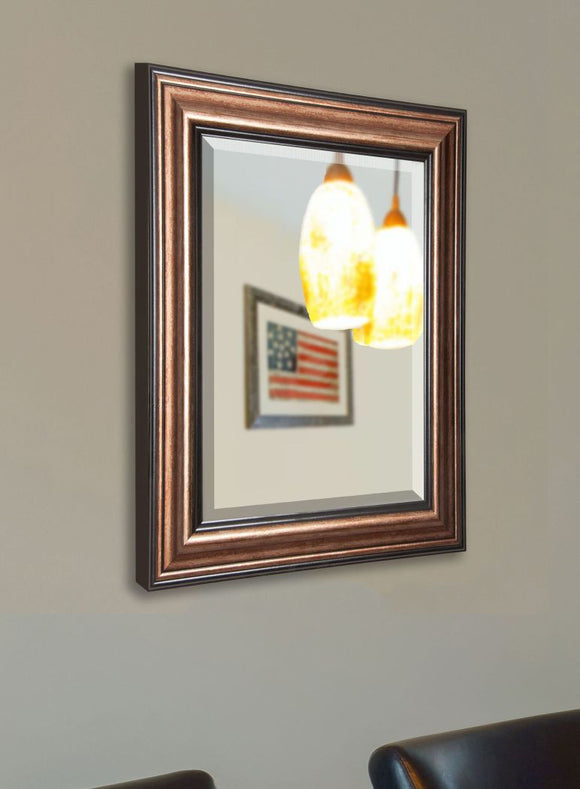 American Made Rayne Canyon Bronze Wall Mirror - R029 ~Suggested Retail~