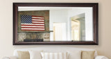 American Made Rayne American Walnut Extra Tall Mirror Size 29.5x70 - R030XT ~Suggested Retail~