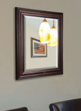 American Made Rayne American Walnut Beveled Wall Mirror - R030 ~Suggested Retail~