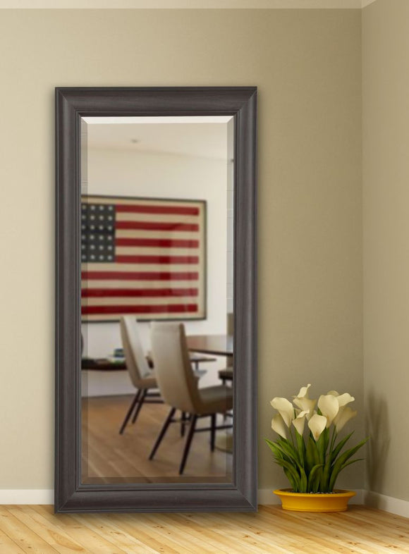 American Made Rayne Brazilian Walnut Extra Tall Mirror Size 30x70.5 - R032XT ~Suggested Retail~