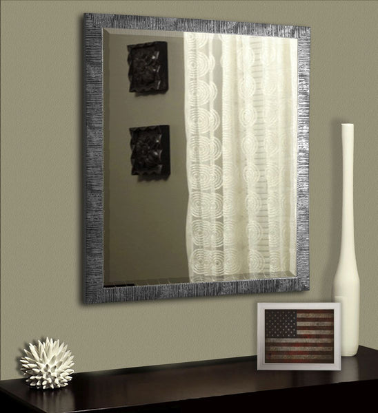 American Made Rayne Safari Silver Wall Mirror - R034 ~Suggested Retail~