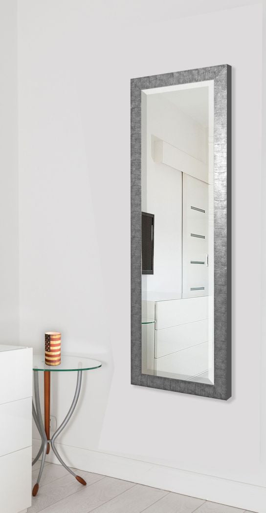 American Made Rayne Safari Silver Full Body Mirror Size 24x62 - R034TM or V034TM ~Suggested Retail~