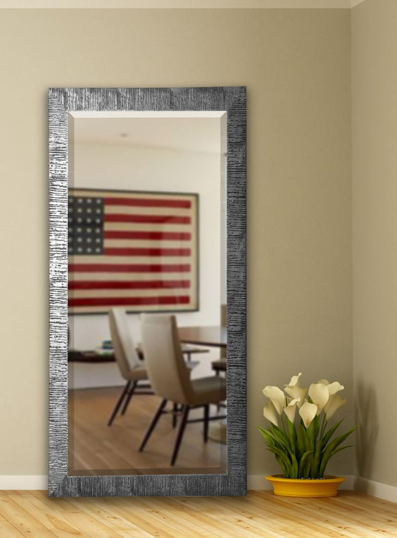 American Made Rayne Safari Silver Extra Tall Mirror (R034XT) *Suggested Retail*