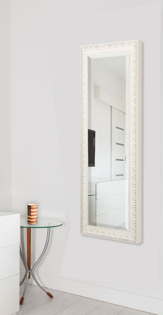 American Made Rayne French Victorian White Body Mirror (V039TM or R039TM) *Suggested Retail*