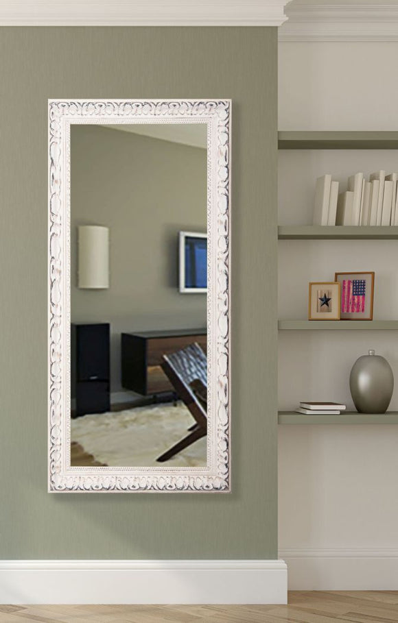 American Made Rayne French Victorian White Mirror (R039T) *Suggested Retail*