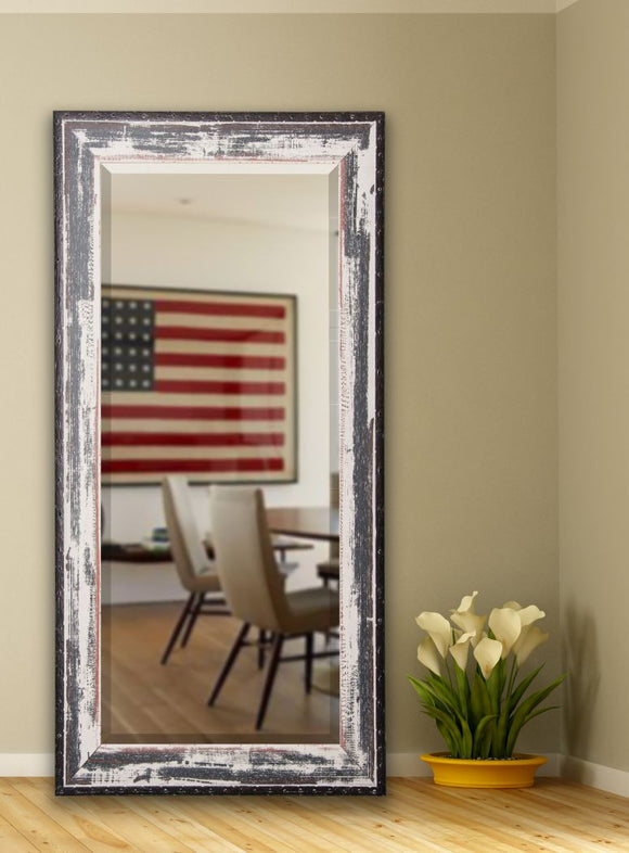 American Made Rayne Rustic Seaside Beveled Tall Mirror (R040BT) *Suggested Retail*