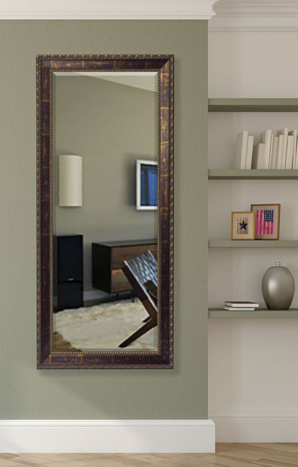 American Made Rayne Roman Copper Bronze Extra Tall Mirror (R041XT) *Suggested Retail*