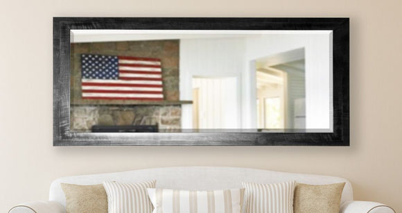 American Made Rayne Black Smoke Extra Tall Mirror Size 28.5x69 - R045XT ~Suggested Retail~