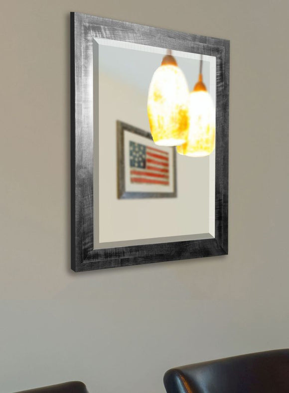 American Made Rayne Black Smoke Wall Mirror - R045 ~Suggested Retail~