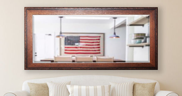 American Made Rayne Timber Estate Extra Tall Mirror Size 30.5x71 - R052XT ~Suggested Retail~