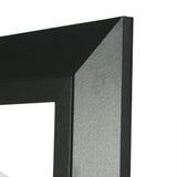 American Made Rayne Attractive Matte Black Beveled Vanity Wall Mirror (35.5x35.5 - R053) ~Suggested Retail~