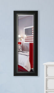 American Made Rayne Attractive Matte Black Body Mirror (V053TS or R053TS) *Suggested Retail*