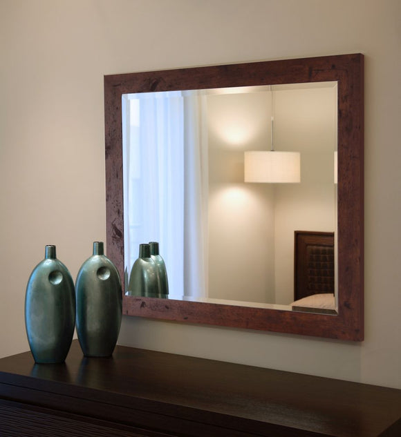 American Made Rayne Rustic Dark Walnut Wall Mirror - R061 ~Suggested Retail~