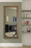 American Made Rayne Brown Barnwood Extra Tall Mirror (R063XT) *Suggested Retail*