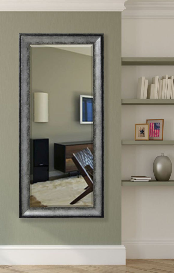 American Made Rayne Sterling Charcoal Extra Tall Mirror (R065XT) *Suggested Retail*