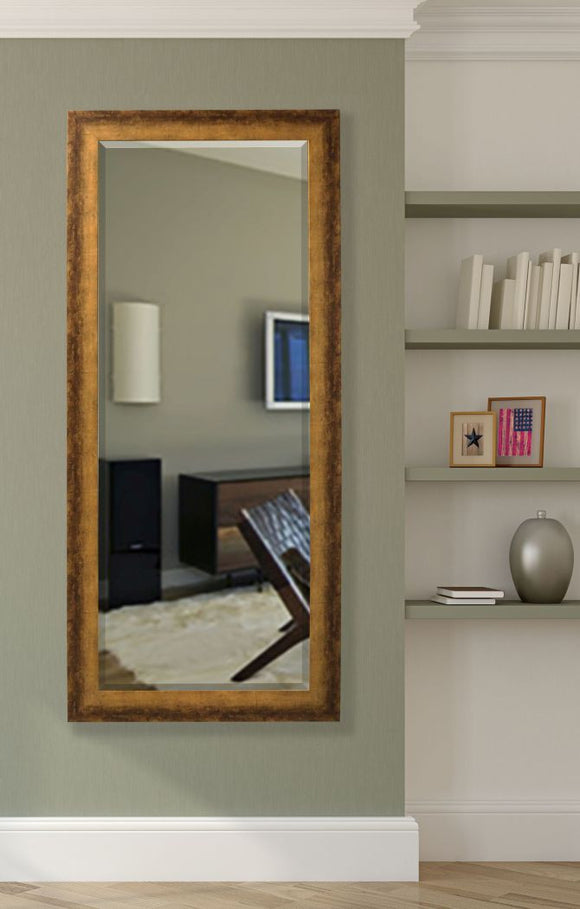 American Made Rayne Tarnished Bronze Extra Tall Mirror Size 30.5x71 - R067XT ~Suggested Retail~