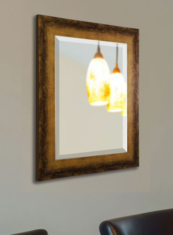 American Made Rayne Tarnished Bronze Wall Mirror - R067 ~Suggested Retail~