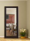 American Made Rayne Black Walnut Extra Tall Mirror Size 30.5x71 - R068XT ~Suggested Retail~