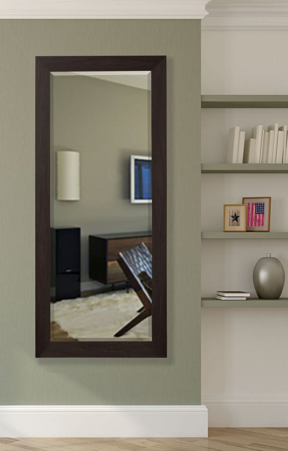 American Made Rayne Black Walnut Beveled Tall Mirror (R068BT) *Suggested Retail*