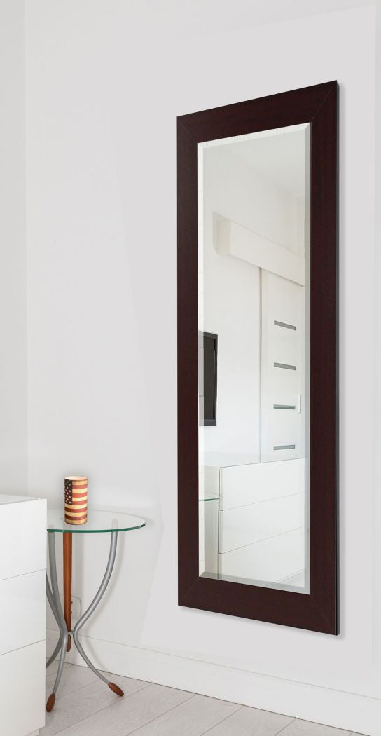American Made Rayne Dark Mahogany Full Body Mirror (V076TM or R076TM) *Suggested Retail*