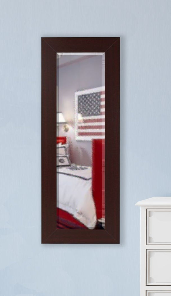 American Made Rayne Dark Mahogany Slender Body Mirror - V076TS or R076TS ~Suggested Retail~