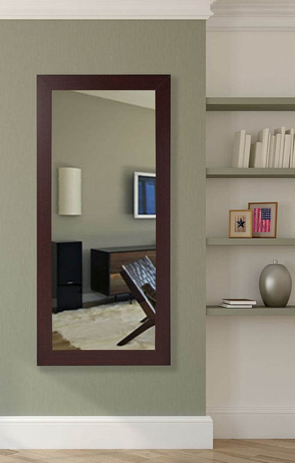 American Made Rayne Dark Mahogany Mirror Size 30.5x65.5 - R076T ~Suggested Retail~
