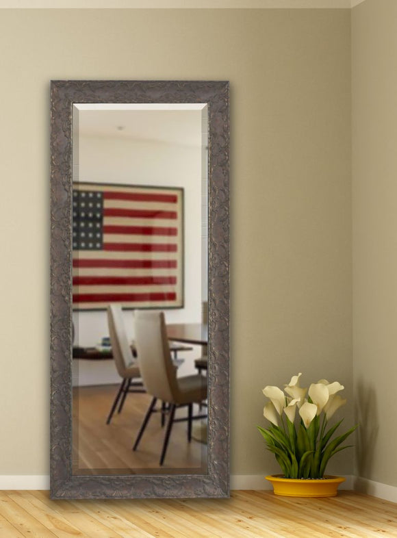 American Made Rayne Maclaren Brown Extra Tall Mirror (R078XT) *Suggested Retail*