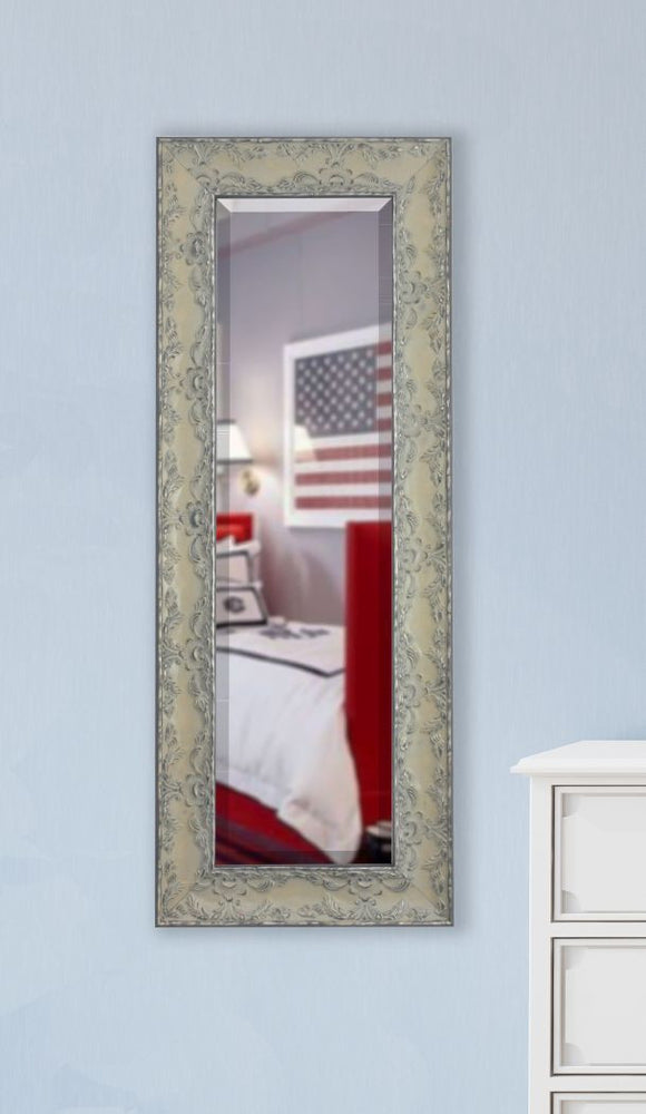 American Made Rayne Maclaren Pewter Body Mirror 21x60 - V079TSorR079TS ~Suggested Retail~