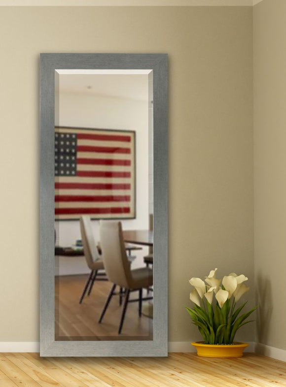 American Made Rayne Yukon Silver Beveled Tall Mirror (R084BT) *Suggested Retail*