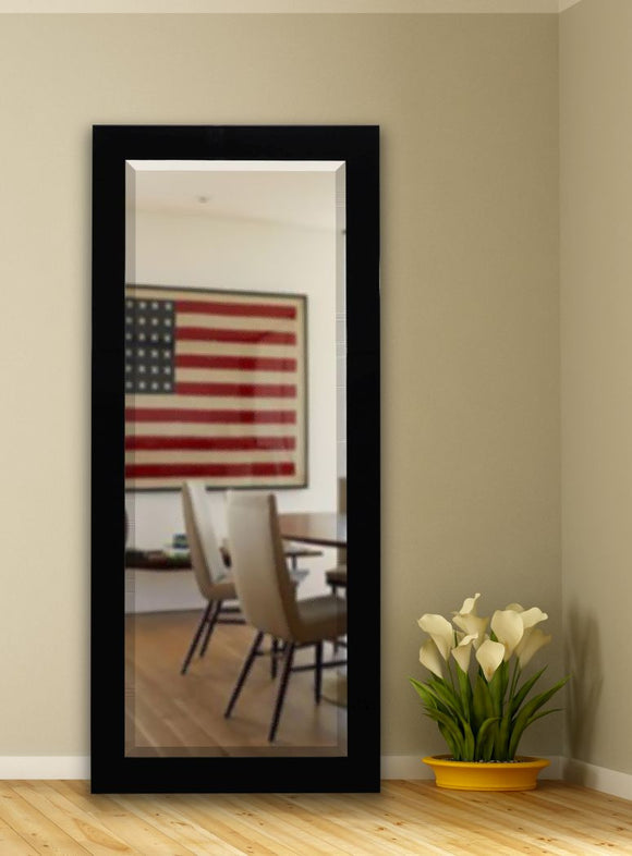 American Made Rayne Delta Black Extra Tall Mirror Size 30.5x71 - R086XT ~Suggested Retail~