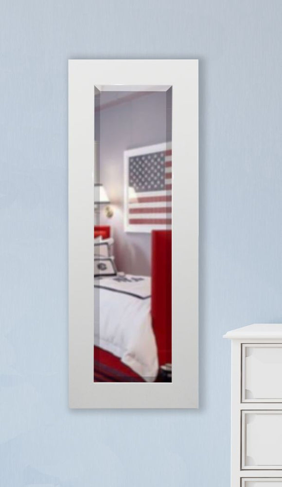 American Made Rayne Delta White Body Mirror (V087TS or R087TS) *Suggested Retail*