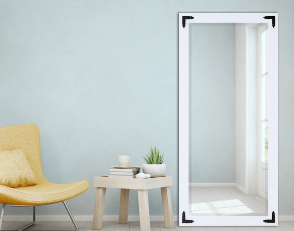 Beveled Wall Mirror with Corner Brackets (R090BT&XT) *Suggested Retail*
