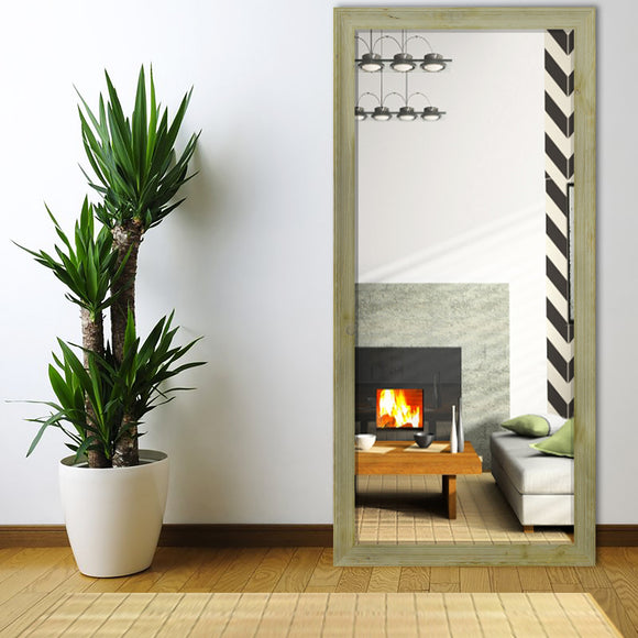 American Made Rayne Rustic Gray Extra Tall Floor Mirror (R0101XT) *Suggested Retail*