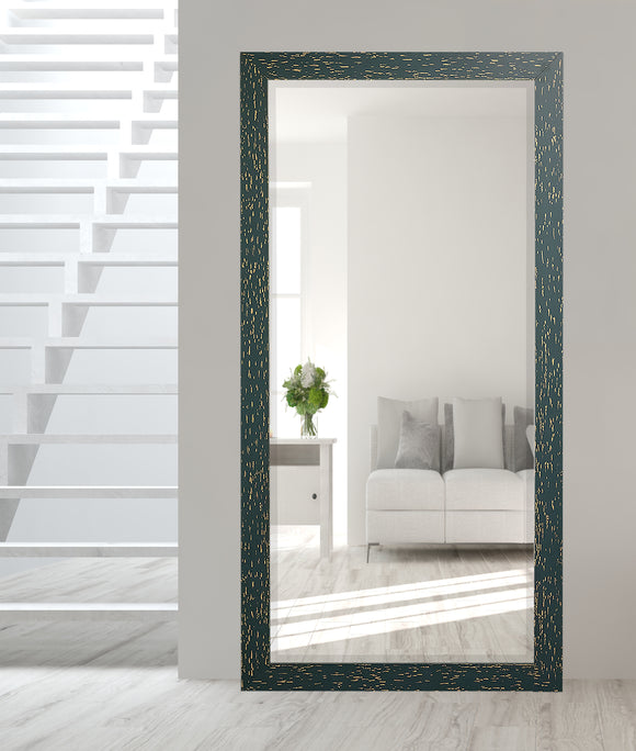 American Made Rayne Sea-green Beveled Tall Mirror (R0107BT) *Suggested Retail*