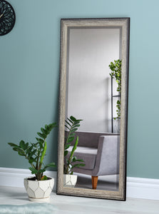 American Made Rayne Brown Brushed Extra Tall Floor Mirror (R108XT) *Suggested Retail*