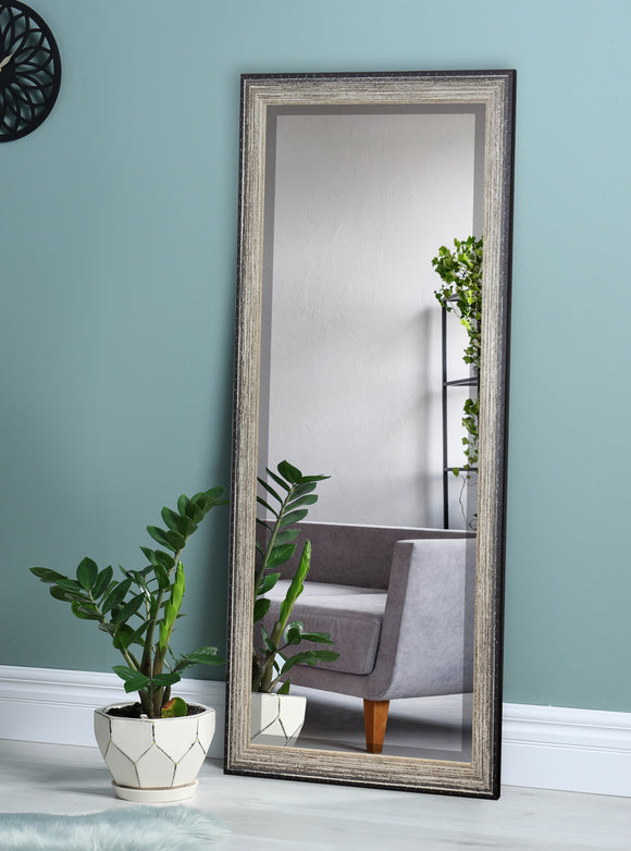 American Made Rayne Brown Brushed Beveled Tall Mirror (R108BT) *Suggested Retail*