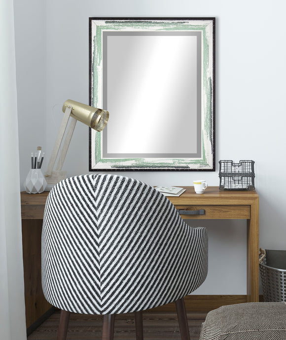 American Made Rayne Seafoam Beveled Wall Mirror (R110) *Suggested Retail*