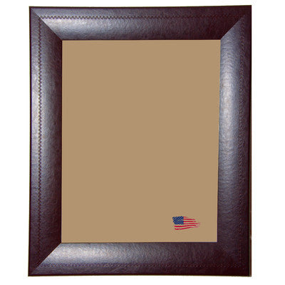 American Made Rayne Espresso Leather Picture Frame (F23) *Suggested Retail*