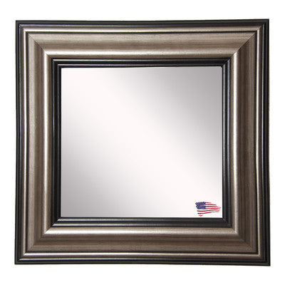 American Made Rayne Antique Silver Square Wall Mirror - S028 ~Suggested Retail~
