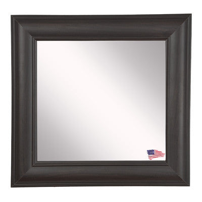 American Made Rayne Brazilian Walnut Square Wall Mirror - S032 ~Suggested Retail~