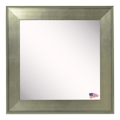 American Made Rayne Brushed Silver Wall Mirror - V004 ~Suggested Retail~