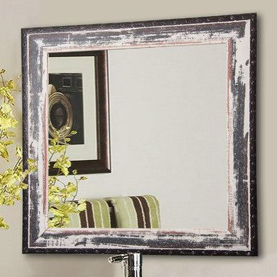 American Made Rayne Rustic Seaside Square Wall Mirror (S040) *Suggested Retail*