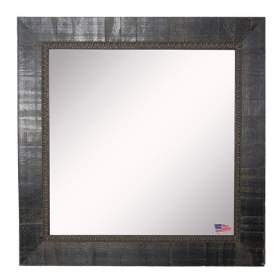 American Made Rayne Tuscan Ebony Square Wall Mirror - S048 ~Suggested Retail~