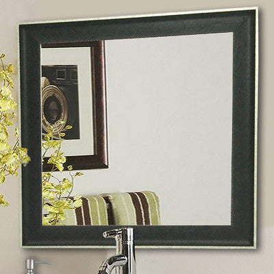 American Made Rayne Vintage Black Square Wall Mirror (S058) *Suggested Retail*