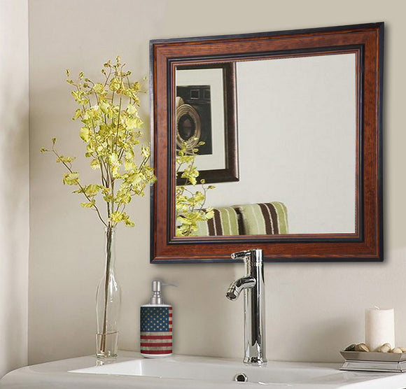 American Made Rayne Country Pine Square Wall Mirror (S027) *Suggested Retail*