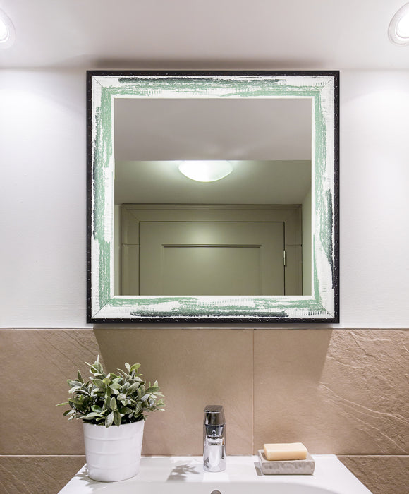 American Made Rayne Seafoam Square Wall Mirror (S110) *Suggested Retail*