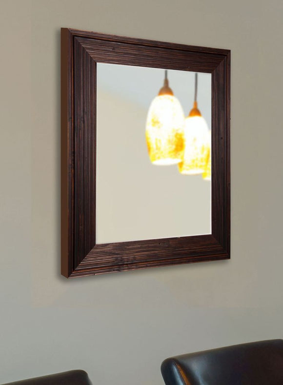 American Made Rayne Barnwood Brown Wall Mirror (V017) *Suggested Retail*