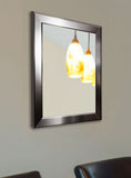 American Made Rayne Silver Rounded Wall Mirror - V001 ~Suggested Retail~