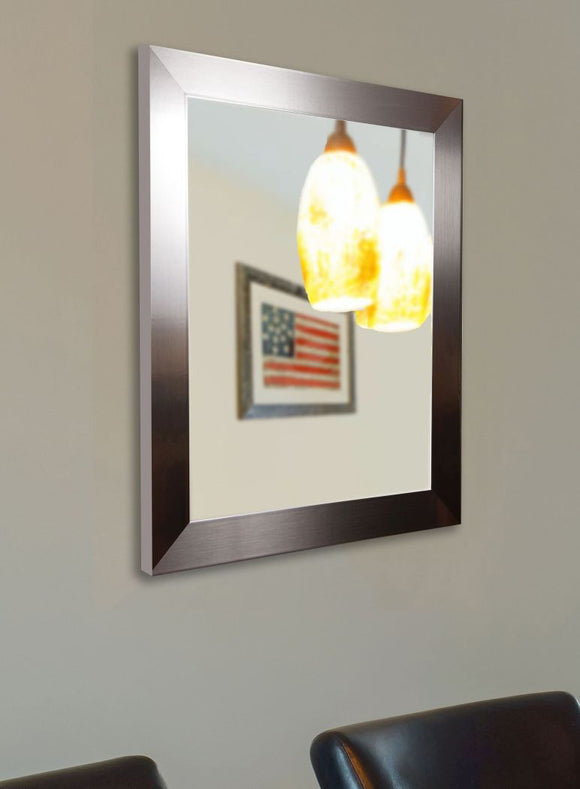 American Made Rayne Silver Grande Wall Mirror - V002 ~Suggested Retail~