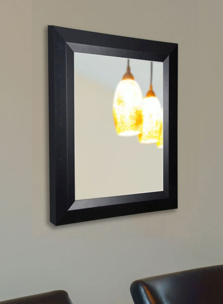 American Made Rayne Solid Black Angle Wall Mirror - V009 ~Suggested Retail~